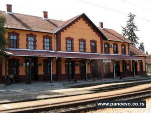 Beovoz stanica Pančevo Varoš