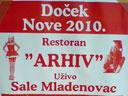 Restoran Arhiv - ponuda za doček 2010