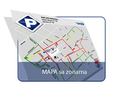 pancevo parking zone mapa