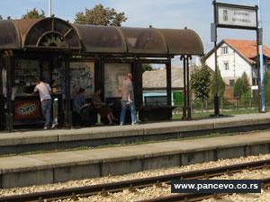 Beovoz stanica Pančevo Vojlovica