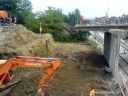 Nadvoznjak u Pancevu - radovi