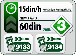 pancevo treća parking zona