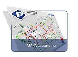 pancevo parking zone mapa